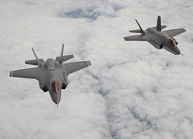 Kampflyet Lockheed Martin F-35 Lightning II (tidligere kalt Joint Strike Fighter). Foto: Lockheed Martin