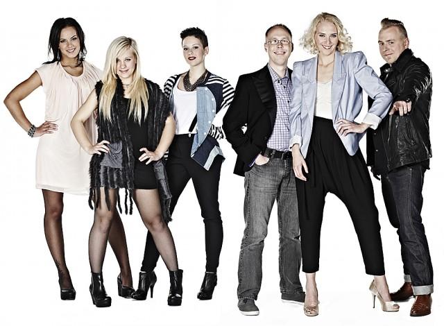 Sofie Braseth og de andre X Factor-finalistene skal denne fredagskvelden dra på med «kjærleiksviser». Foto: Bjørgli&Bergersen/TV 2