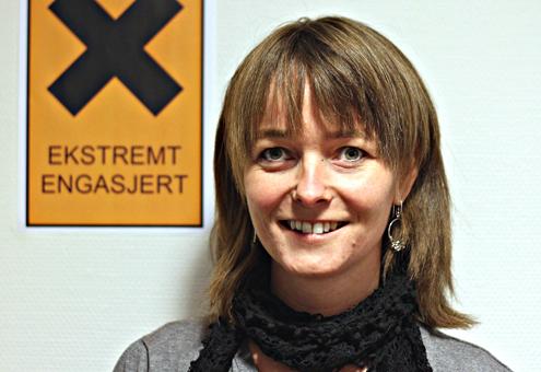 Elisabet Israelsen blir daglig leder ved Evenes syn- og mestringssenter. Foto: Jørgen Juul, Norges Blindeforbund
