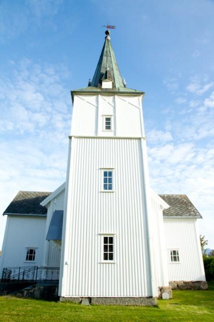 Lødingen kirke. Arkivfoto: Robin Lund, Ofoting