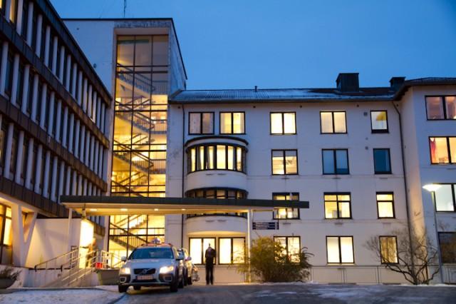 Ansatte ved Narvik sykehus omkommet i trafikkulykke. Arkivfoto: Robin Lund