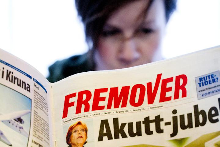 Lesertallene har stabilisert seg for dagsavisen Fremover. Foto: Robin Lund