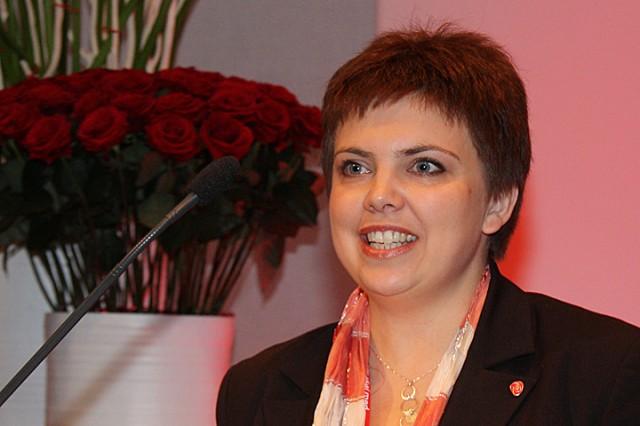 Fylkesråd for utdanning Trud Berg. Arkivfoto: Arbeiderpartiet