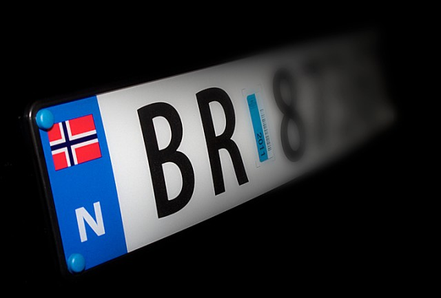 Bilkjennemerkene skal være i orden. Foto: Robin Lund, IMGS.no bildebyrå