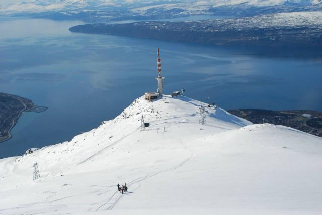 Narvikfjellet som Norges nest beste skisted for løssnøkjøring. Foto: Kjell G. Karlsen / Narvikfjellet