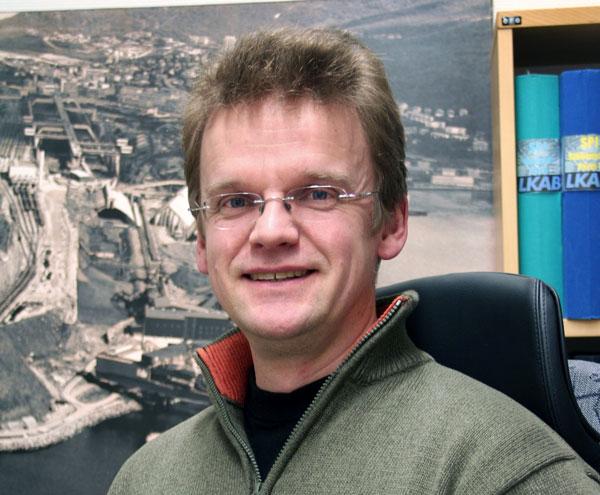 LKABs markedssjef, Markus Petäjäniemi, beroliger med at leveringsstoppen ikke vil ha økonomisk innvirkning på LKAB. Arkivfoto: LKAB