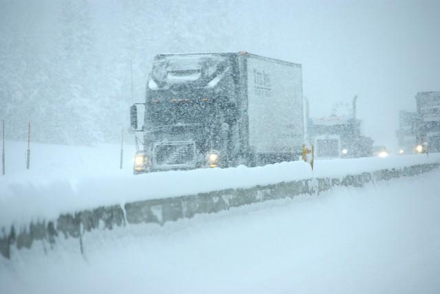 Vogntog på vinterføre. Illustrasjonsfoto: Steve Estvanik