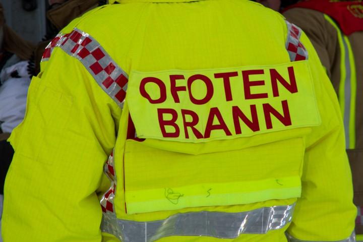 Store deler av brannmannskapet i Ofoten brann truer med å slutte, i protest mot kommunens foreslåtte nattevakt-kutt. Arkivfoto: Robin Lund
