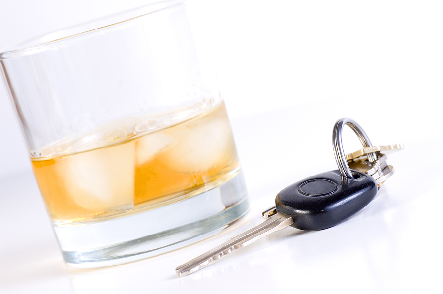 La nøklene ligge når du har fått alkohol å drikke. Illustrasjonsfoto: Nikola Bilic