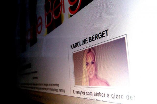 Super-blogger Karoline Berget. Foto: Skjermbilde