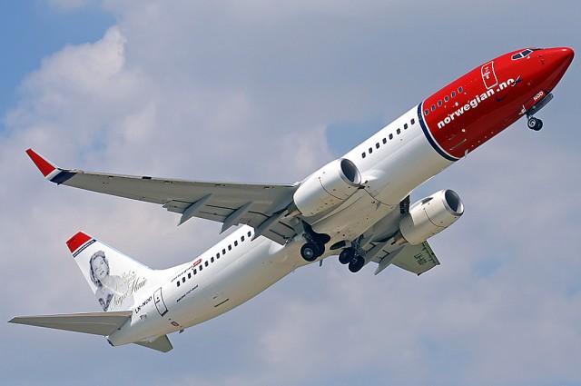 Et Norwegian-fly måtte gjøre vendereis etter å ha blitt truffet av lyn. Illustrasjonsfoto: Peter Andrasovszky