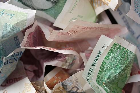 Det er falske sedler i omløp. Illustrasjonsfoto: Robin Lund, IMGS.no bildebyrå