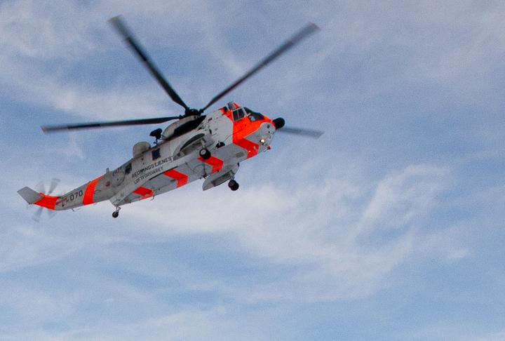 Redningshelikopter. Arkivfoto: Robin Lund .no