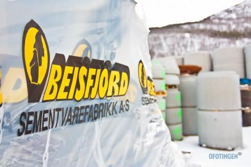 Beisfjord sementvarefabrikk. Arkivfoto: Robin Lund .no
