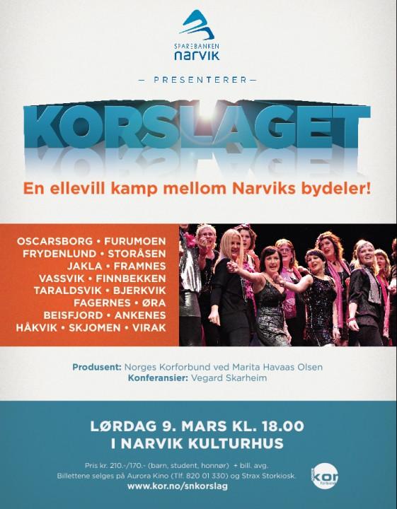 Plakat korslaget i Narvik