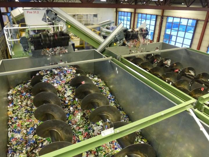 Det nye resirluleringsanlegget i Bjerkvik har dobbel kapasitet i forhold til det gamle anlegget. Foto: Ole Faye / Norsk Resirk