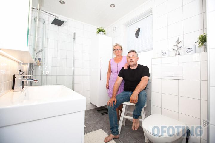 Jørgen og Svanhild Ulriksens bad