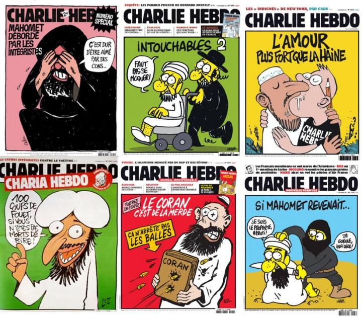 Charlie Hebdo faksimiler