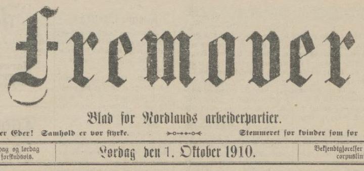 Fremover 10. oktober 1910