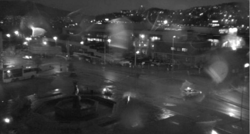 Narvik sentrum stengt