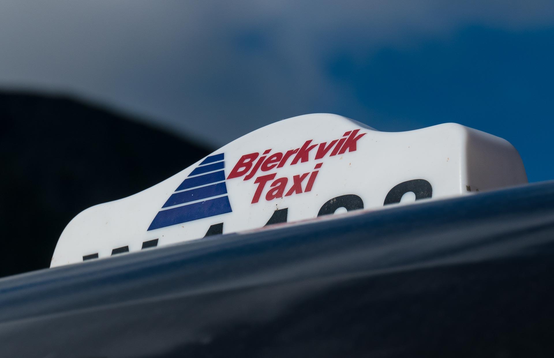 Uten førerkort er det kjekt med taxi. (Arkivfoto: Robin Lund)