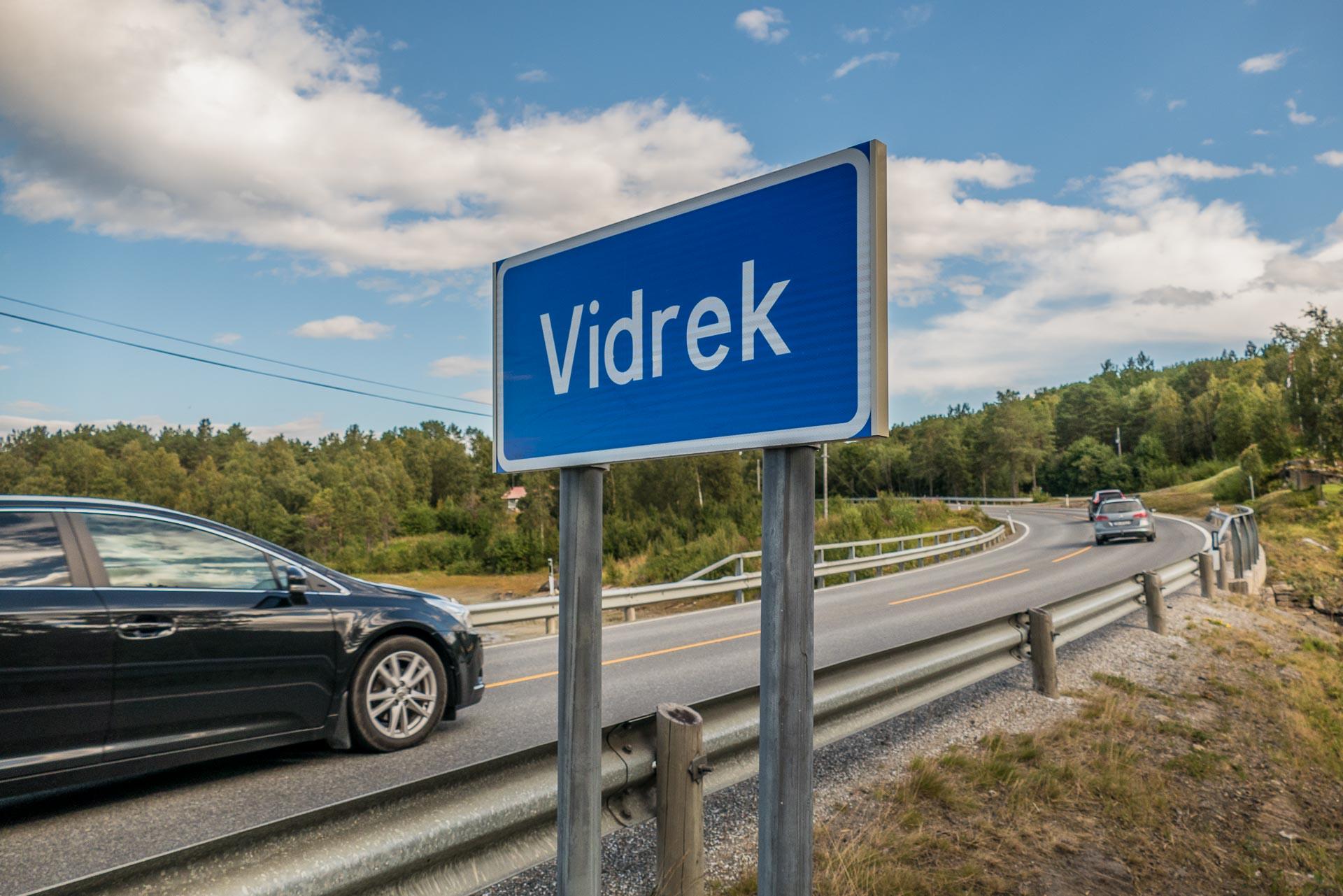 Vidrek, eller Virak, langs E6. (Illustrasjonsfoto: Robin Lund .no)