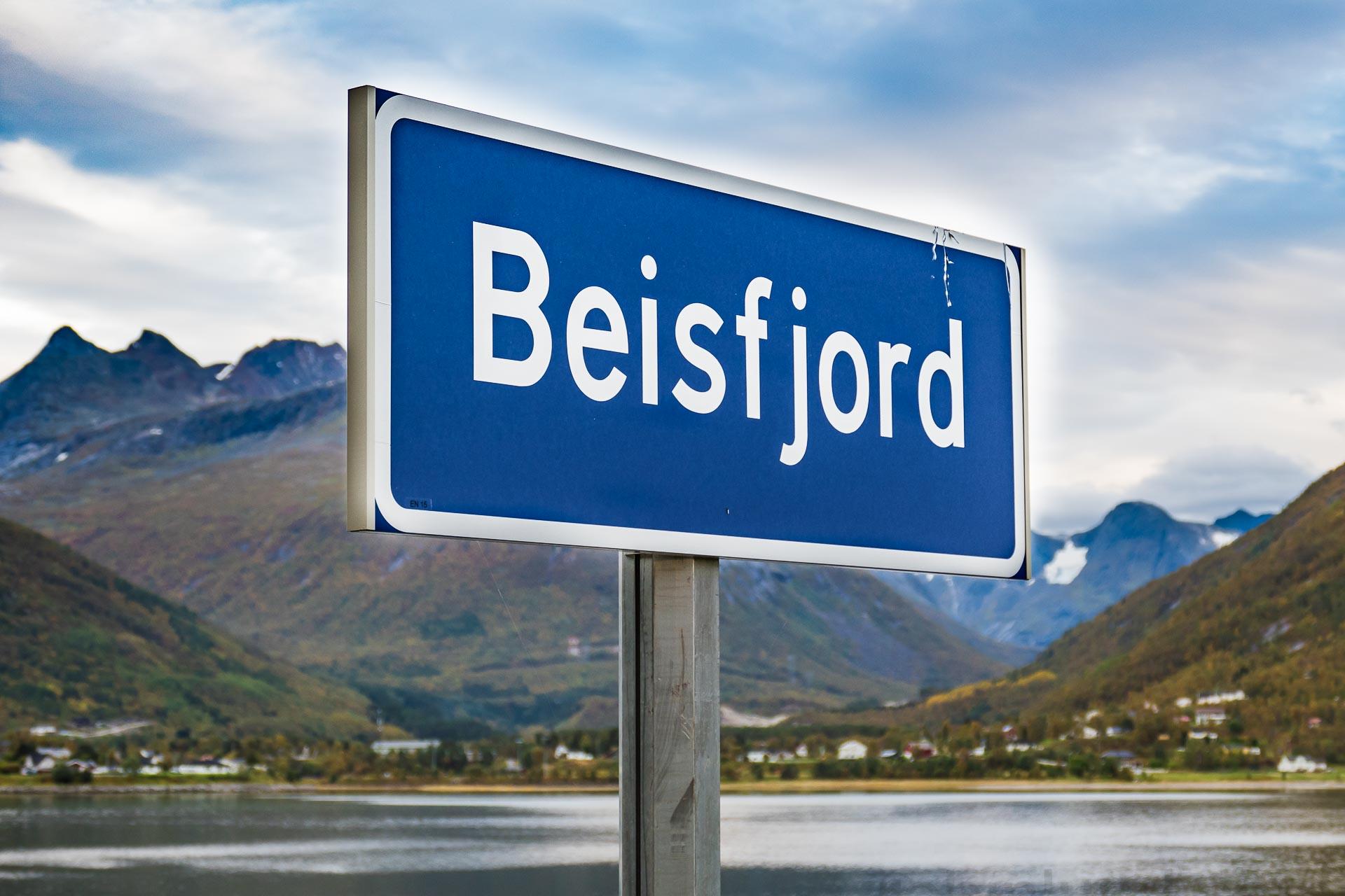 Beisfjord er et tettsted som ligger 15 km sør for kommunesenteret Narvik, innerst i Beisfjorden.