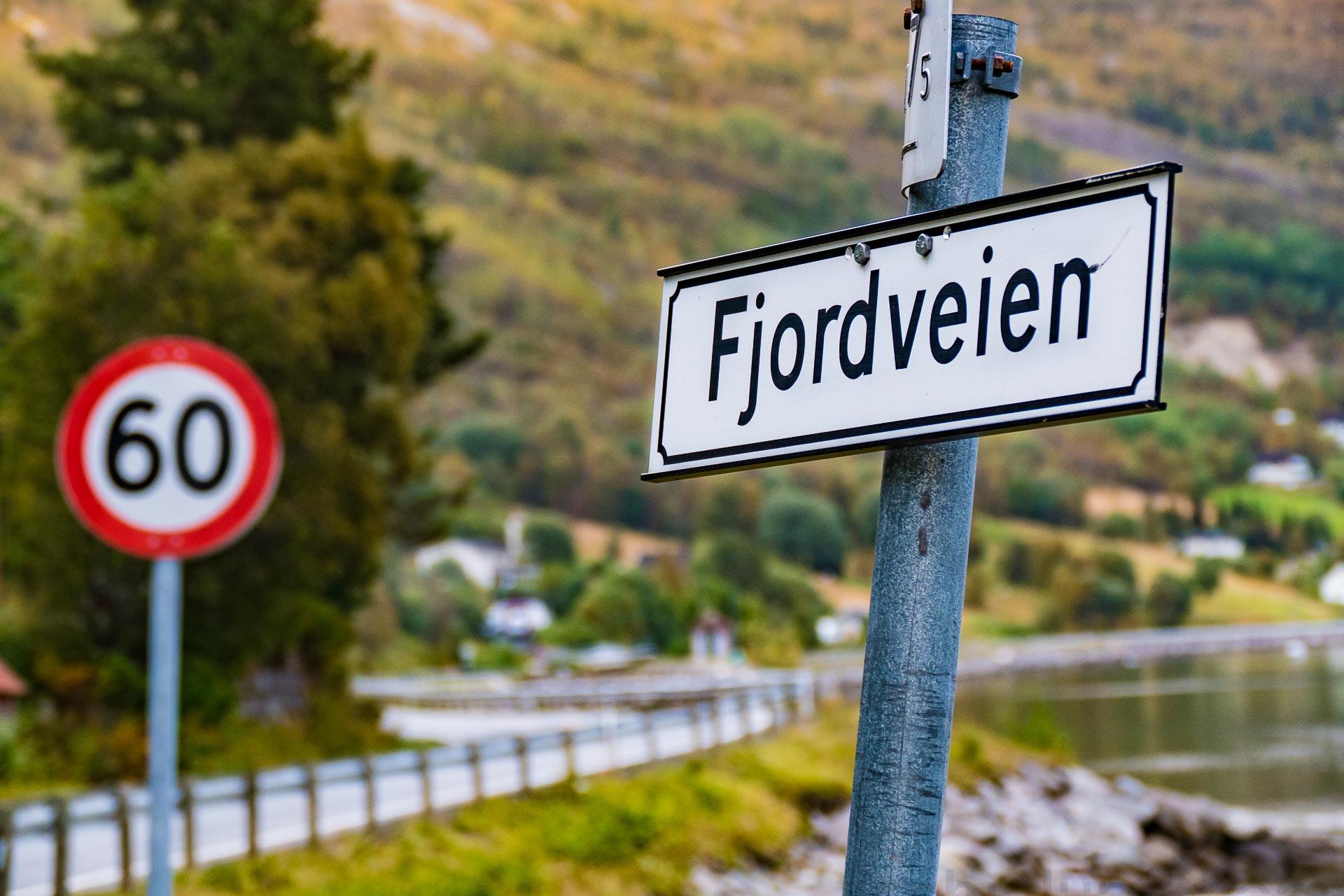 Beisfjord er et tettsted som ligger 15 km sør for kommunesenteret Narvik, innerst i Beisfjorden. Skilting som viser 60-sone i Beisfjord.